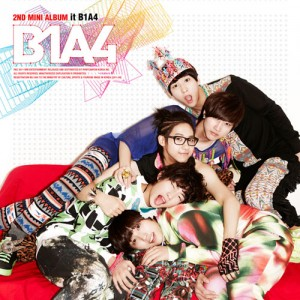 "Album Art for ""It's B1A4"""
