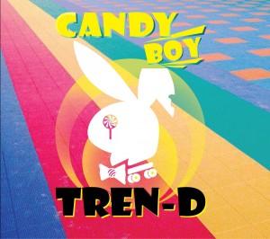 "The album art for Tren-d's album ""Candy Boy"""