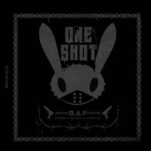 "Album art for B.A.P's album ""One Shot"""