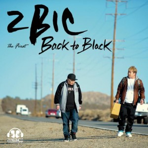 "2BiC's album art for their Album ""Back to Black"""