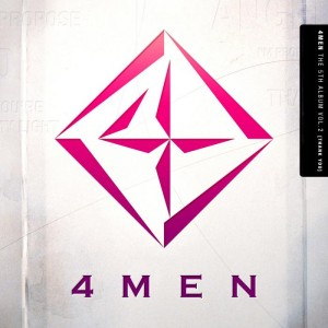 "Album art for 4Men's album ""Thank You"""