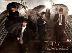 "Album art for 2AM's ""Saint O'Clock"" album"