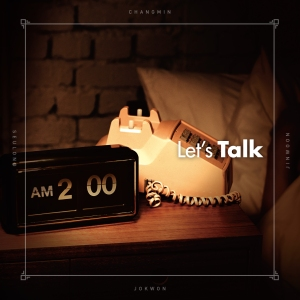 "Album art for 2AM's album ""Let's Talk"""