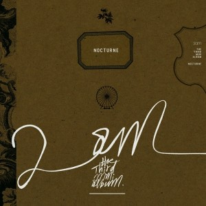 "The album art for 2AM's album ""Nocturne"""