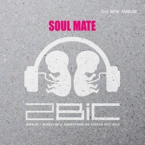 "Album art for 2BiC's album ""Soul Mate"""