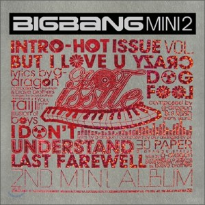 "The Album art for Big Bang's album ""Hot Issue"""