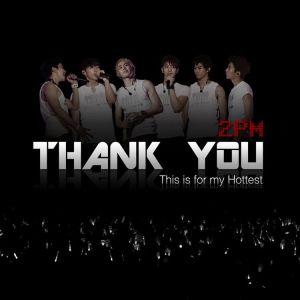 "Album art for 2PM's album ""Thank You"""