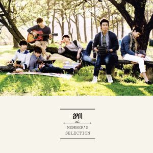 "Album art for 2PM's album ""The Members Selection"""