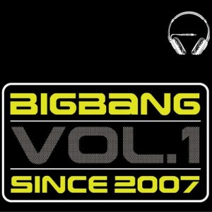 "Album art for Big Bang's album ""Vol. 1"""