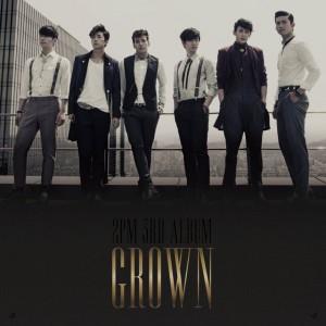 """Album art for 2PM's album """"Grown"""""""