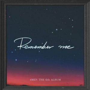 """Album art for 4Men's album """"Remember Me"""""""
