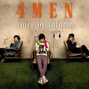 "Album artwork for 4MEN's album ""Voice of Autumn"""