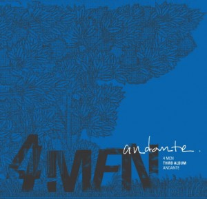 "Album art for 4MEN's album ""Andante"""