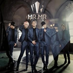 """MR.MR's album art for their album """"Do You Feel Me?"""""""
