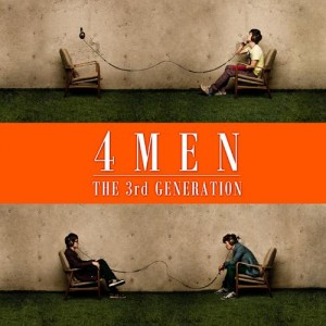 "Album artwork for 4MEN's album ""3rd Generation"""