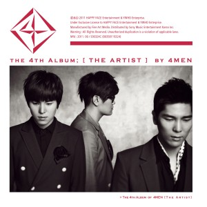 "Album art for 4MEN's album ""The Artist"""