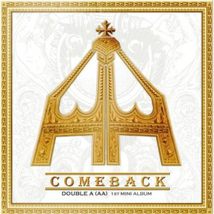 "Album artwork for AA's album ""Comeback"""