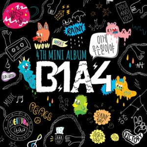 "The album art for B1A4's album ""What's Happening"""