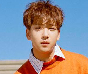 "B1A4's Baro promotional picture for ""Rollin'"""
