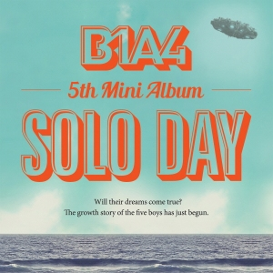 "Album art for B1A4's album ""Solo Day"""