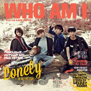 "Album art for B1A4's album ""Who Am I (group version)"""
