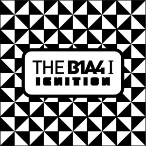 "Album artwork for B1A4's album ""Ignition"""