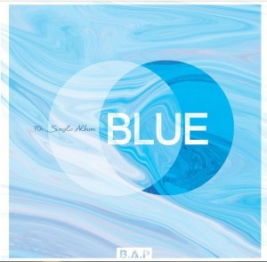 """Album art for BAP's album """"Blue"""""""