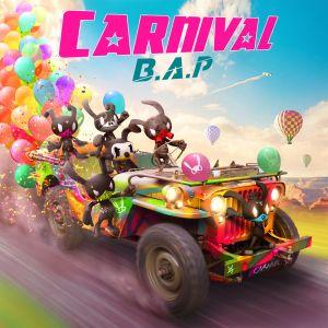 "Album art for BAP's album ""Carnival"""