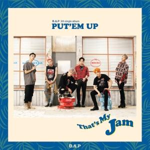 """Album art for B.A.P's album """"Put 'Em Up"""""""