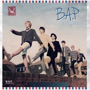 "Album art for B.A.P's album ""Unplugged 2014"""