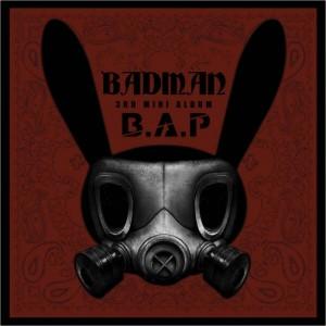 """Album art for B.A.P's album """"Badman"""""""