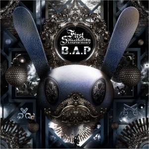 "The Album art for B.A.P's Album ""First Sensibilty"""