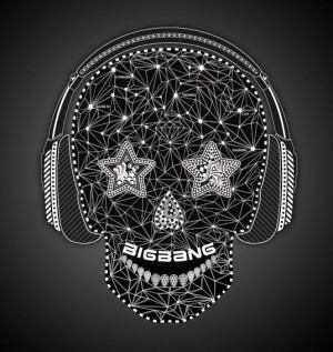 "Album art for Big Bang's album ""Tonight"""