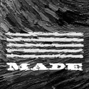 "Album art for Big Bang's album ""M.A.D.E"""