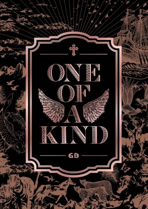 "Album art for G-Dragon's album ""One of A Kind"""