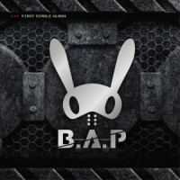 "Album art for B.A.P's album ""Warrior"""