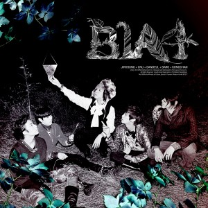 "Album art for B1A4's album ""In The Wind"""