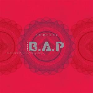 """Album art for B.A.P's album """"No Mercy"""""""