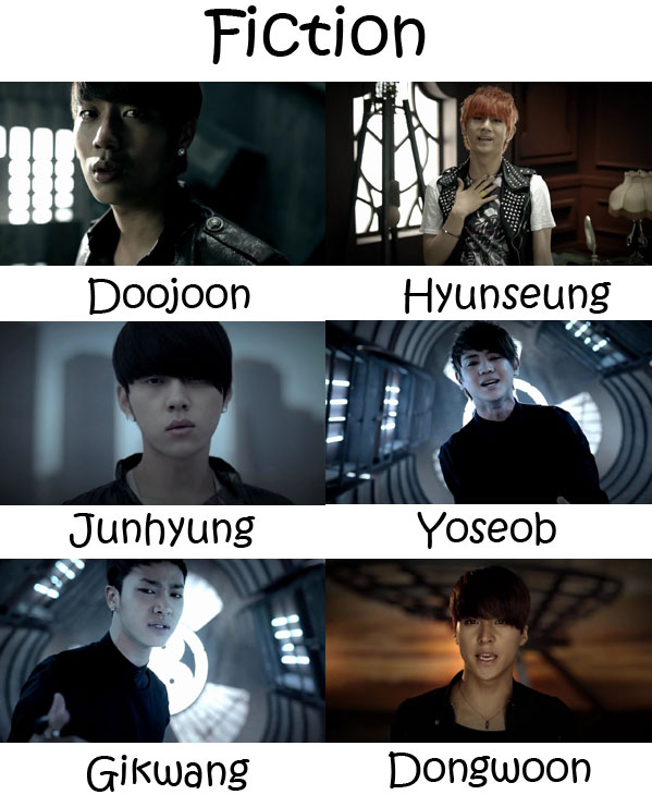 "The members of Beast in the ""Fiction"" MV"
