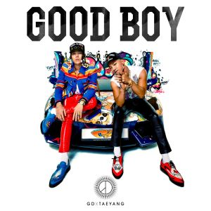 "Album art for GD x Taeyang's album ""Good Boy"""