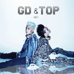 "Album art for Big Bang's sub-unit GD & Top's album ""GD & TOP"""