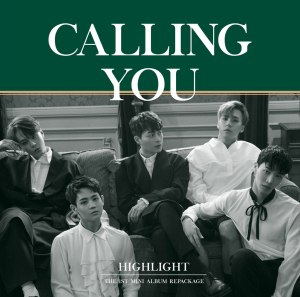 "Album art for Highlight's album ""Calling You"""