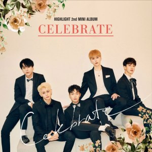 "Album art for Highlight's album ""Celebrate"""