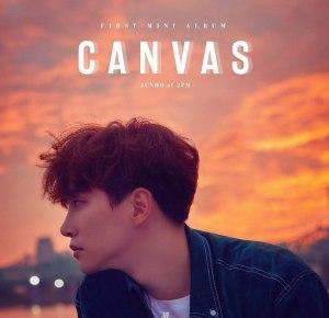 "Album art for Junho's album ""Canvas"""