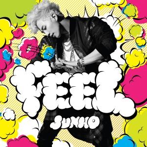 """Album art for Junho (2PM)'s album """"Feel"""""""