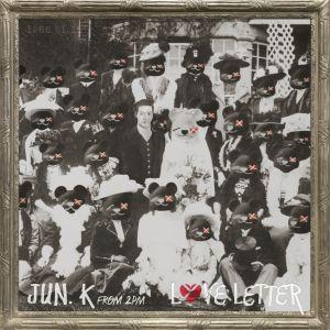 """Album art for Jun.K (2PM)'s album """"Love Letter"""""""