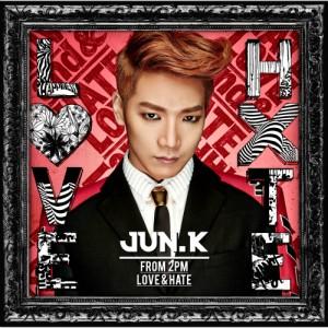 "Album art for Jun.K (2PM)'s album ""No Love"""