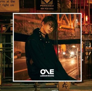 "Album art for Lee Gikwang's album ""One"""