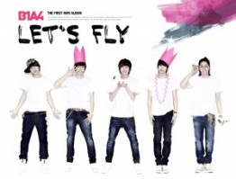"Album art for B1A4's album ""Let's Fly"""