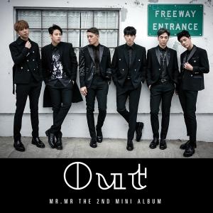 """Album art for MR.MR's album """"OUT"""""""